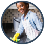 residential home cleaning gleam clean